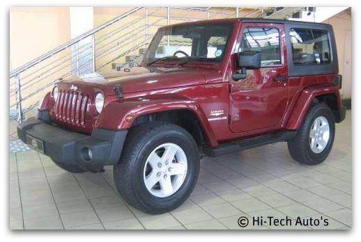 Jeep Wrangler Unlimited Sahara. Jeep Wrangler Sahara 2.8 CRD