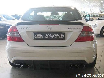 The newfangled CLK 63 AMG Black Series