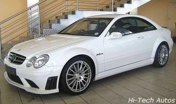 Mercedes Benz CLK63 AMG Black Series